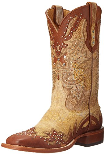 Cinally Womens Sally Western Boot Tan