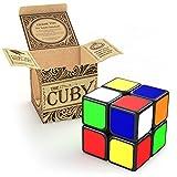 Cuby El Juego de Cubo que agiliza tu cerebro 2x2 Speed Cube