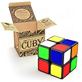 The Cuby - The Best Two-Layer Brain Teaser 2x2 Cube - Perfect Mind Teaser for Kids and Cube Puzzle for Adults - Hours of Fun In The Palm Of Your Hand