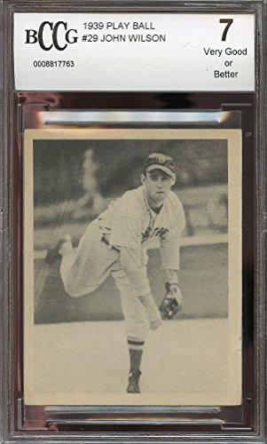1939-play-ball-29-john-wilson-red-sox-rookie-very-good-or-better-bgs-bccg-7-graded-card