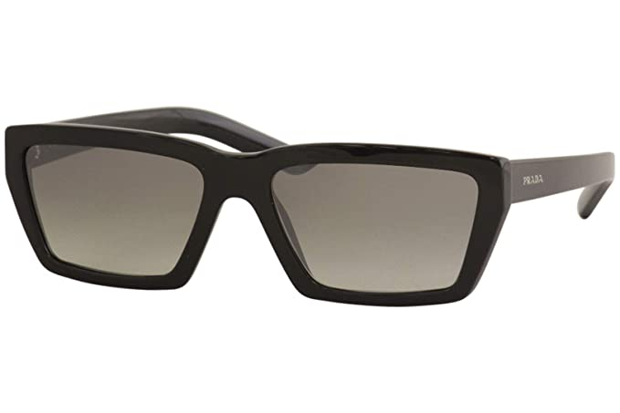 Prada 0PR 04VS Gafas de sol, Black, 57 para Mujer: Amazon.es ...