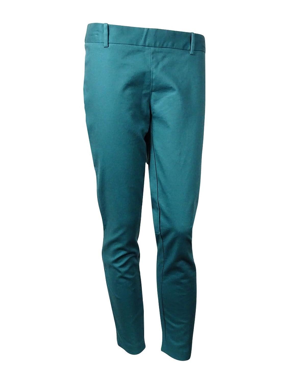 Maison Jules Women's Skinny Ankle-zip Pants