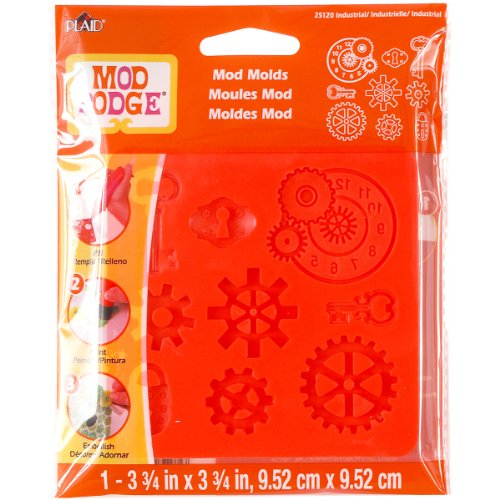 Mod Podge Mod Mold (3-3/4 by 3-3/4-Inch), 25120 Industrial -