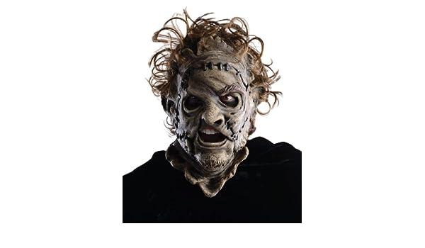 La Matanza de Texas 3/4 Máscara de Vinilo de Leatherface: Amazon.es: Ropa y accesorios