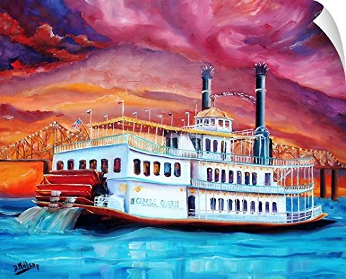 Canvas on Demand Diane Millsap Wall Peel Wall Art Print entitled New Orleans' Creole Queen 24