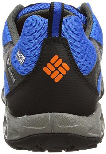 Columbia VENTRAILIA OUTDRY« - zapatillas de trekking y senderismo de material sintético hombre azul - Blau (Hyper Blue/Heat Wave 431)