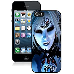 NEW DIY Unique Designed iPhone 5s Generation Phone Case For Female Vampire Phone Case Cover
