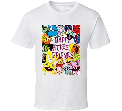 Win-Tshirts Happy Tree Friends Cartoon Classic T Shirt