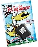 Quiet Spot Pet Tag Silencer, Black