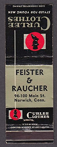 Curlee Clothes Feister & Raucher 94-100 Main St Norwich CT - Main St 100