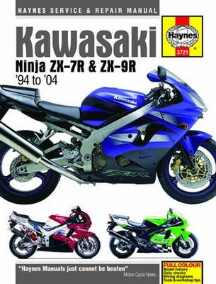 Kawasaki Ninja ZX-7R and ZX-9R Haynes Repair Manual for sale  Delivered anywhere in Canada