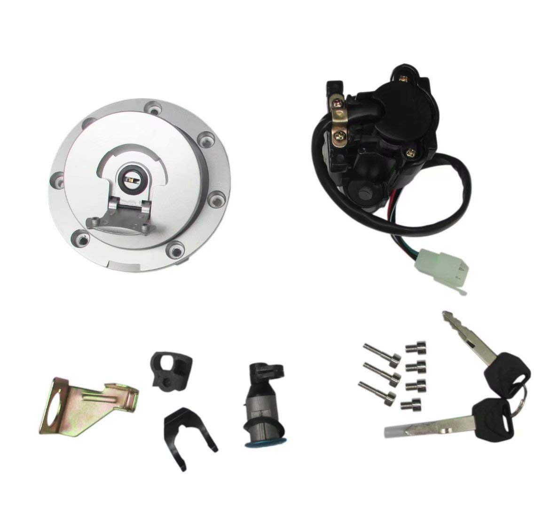 New 2003-06 Performance Ignition Switch Fuel Gas Cap Lock Set for Honda CBR600RR CBR1100XX