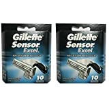 Gilletté Sensor Excel Refill Cartridges 20 Count