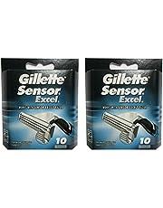Gíllette Sensor Excel Razor Refill Cartridges 20 Count