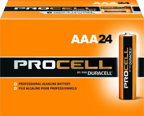 Duracell Procell (Size-AAA) Super Discount Size Package- 120 (AAA) Batteries by Duracell