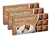 Schogetten Latte Macchiato Milk Chocolate, 3.5oz (Pack of 3)