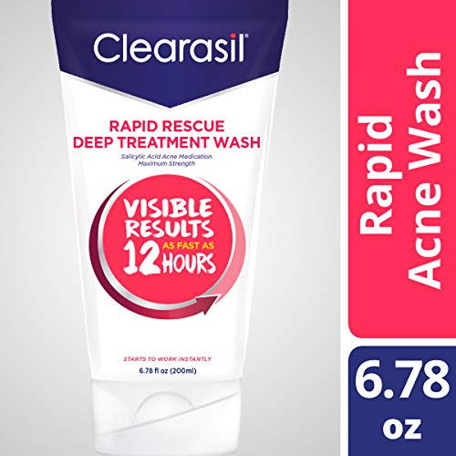 Clearasil Ultra Acne Treatment Daily Face Wash, 6.78 Ounce (Pack of 6) (Face Ultra Wash Clearasil Daily)