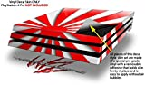 WraptorSkinz PS4 Pro Skin Rising Sun Japanese Flag Red - Decal Style Skin Wrap fits Sony PlayStation 4 Pro Console