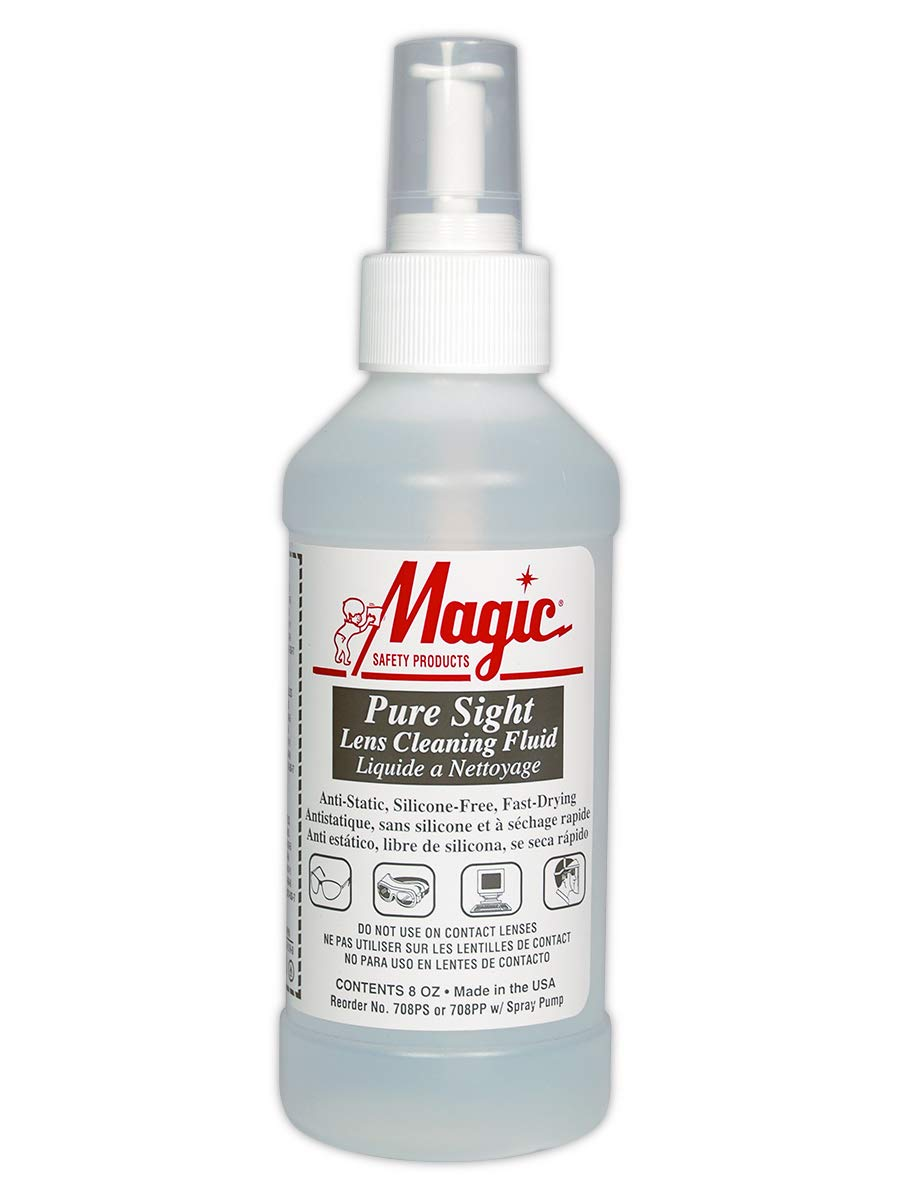 Magid Glove & Safety 708PP Pure Sight Lens Cleaner, Standard, White (Pack of 20)