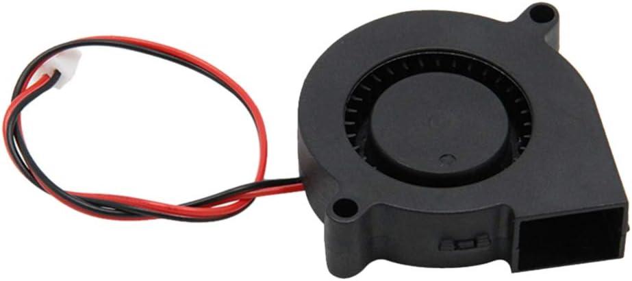 ULTECHNOVO 3D Printer Cooling Blower Fan Brushless Cooling for 3D Printer