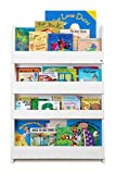 Tidy Books - The Original Kid's Bookcase in White - Front Facing Kid's Bookshelf - Perfect Book Storage for Kids 45.3 x 30.3 x 2.8 IN