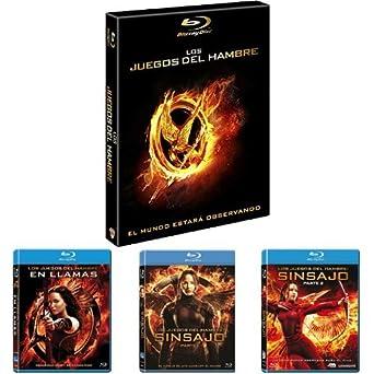 Los Juegos Del Hambre: Saga Completa [Blu-ray]: Amazon.es: Cine y ...
