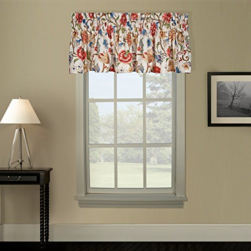 Braddock Jacobean Thermal Damask Tailored Valance