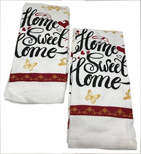 Home Collection Sentiment Kitchen, Bath, Bar Cotton Hand Tow
