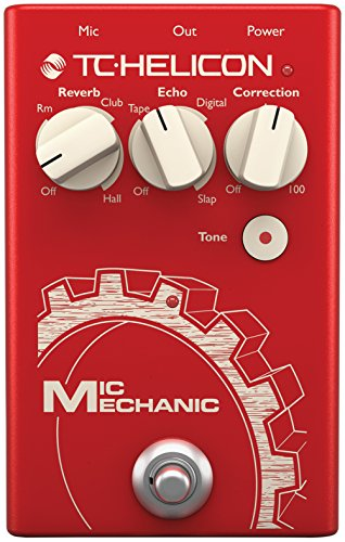 TC Helicon ''TC Helicon VoiceTone Mic Mechanic 2 Reverb, Delay, & Pitch Correction Pedal'' by TC-Helicon