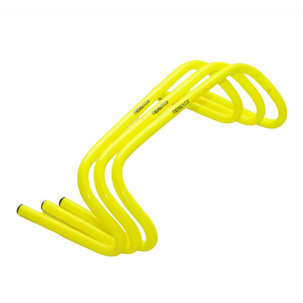 FH Speed Training Hürden 15,2cm Schnelle Beinarbeit Agility Bohrmaschinen 3Stück Fitnesshealth Ltd FH-Pro-Hurdle-6inch-3-set