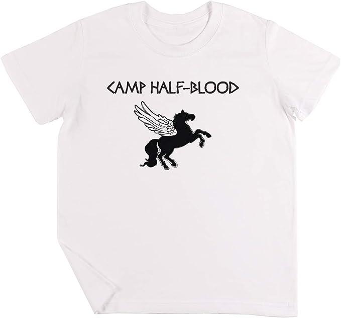 Camp Half-Blood Camp Shirt Niños Chicos Chicas Unisexo Camiseta ...