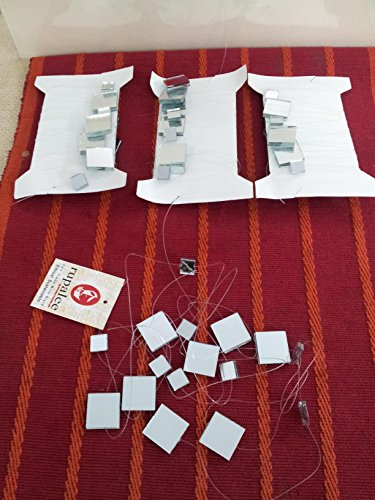 (8 Ft Mirror Garland in Pack of 4 (silver))