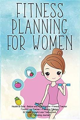 Fitness Planning for Women: Fitness Agenda, Fitness Planner ...