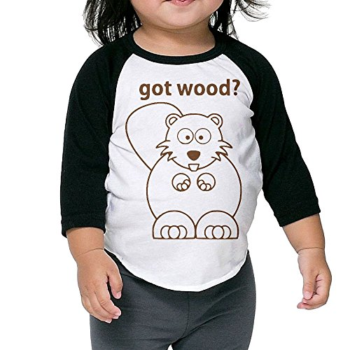 Toothbrush Adult Unisex Costumes (Beaver Got Wood Kid's Sleeve Raglan Clothes Unisex 4 Toddler Beautiful)