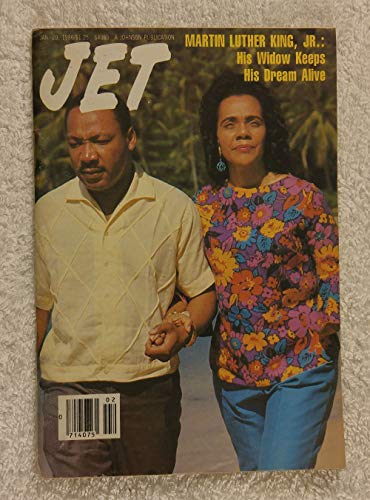 Martin Luther King Jr. & Coretta Scott King - His Widow Keeps His Dream Alive - Jet Magazine - January 20, 1986