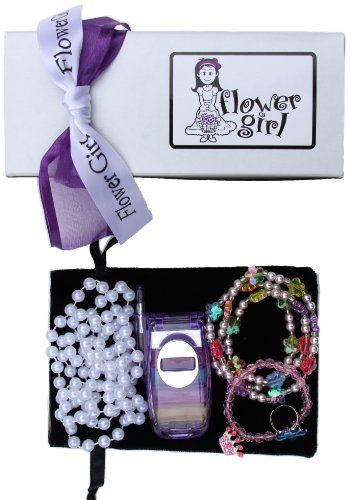 Flower Girl Gift Boxed Bling Bag