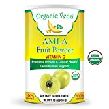 Cheap Organic Amla Fruit Powder – 1 Lb. ★ USDA Certified Organic ★ 100% Pure and Natural Super Food Supplement. Non GMO, Gluten FREE. All Natural!
