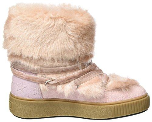 Replay Mädchen Blondes Schneestiefel Pink (Pink)