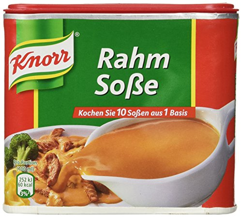 - Knorr Creamy Gravy for Meat ( Rahm Sose ) for 1.75 Liter