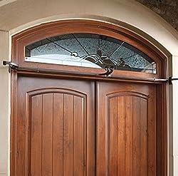 """TreeKeeper Adjustable Christmas Garland Hanger for Double Door Frames, 52""""/82"""""""