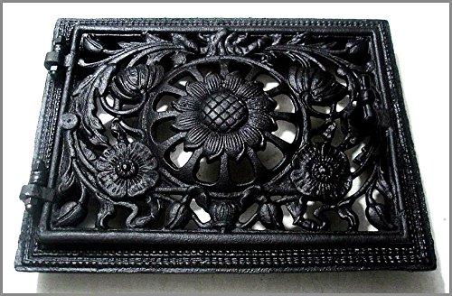 Graf von gerlitzen Horno Puerta para puerta de horno para puerta puerta Chimenea estufas rejilla de ventilación Chimenea Puerta M137 de T: Amazon.es: ...