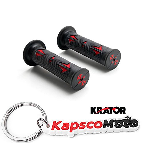 Krator Universal ATV & PWC Rubber Comfort Hand Grips (7/8