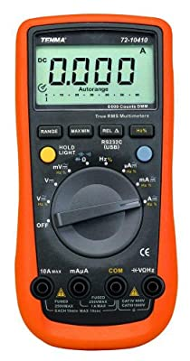 Professional TRMS Digital Multimeter with 6000 Count Display