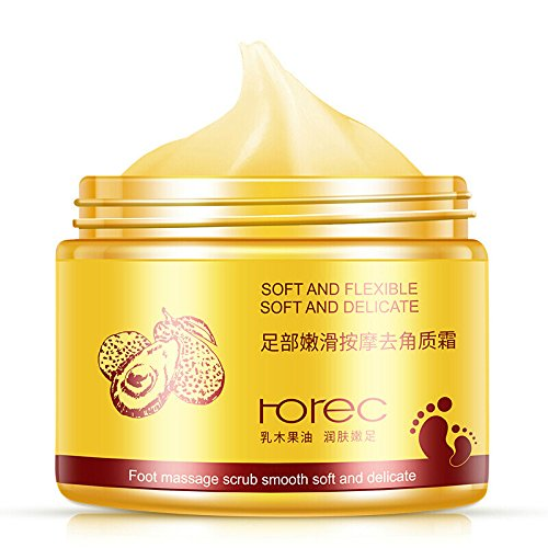 Foot Exfoliating Scrub Gel With Avocado Essence, Foot Whitening Skin Care, Foot Moisturizer, Foot Callus Remover Foot Skin Care Gel
