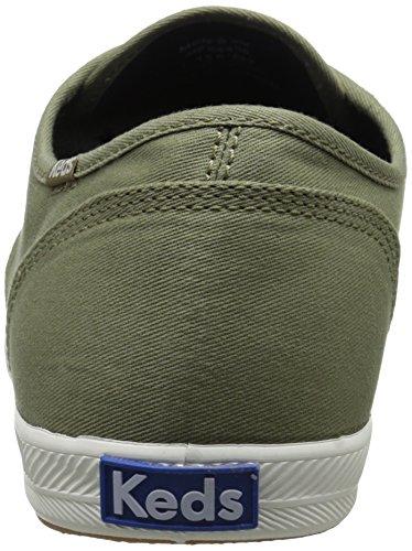 Keds Herenkampioen Solid Army Twill Sneaker Olive