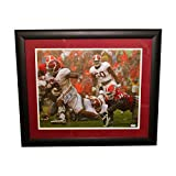 Derrick Henry Signed 16x20 Framed Photograph - Alabama Crimson Tide vs. Georgia Bulldogs - PSA/DNA Certified Authentic