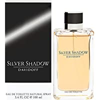 Silver Shadow by Davidoff for Men - Eau de Toilette, 100ml