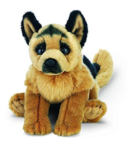 "German Shepherds Cute (Bearington Chief German Shepherd Plush Stuffed Animal Puppy Dog 13"")"