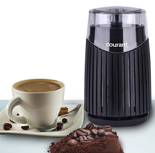 Courant Electric Coffee Grinder, Stainless steel