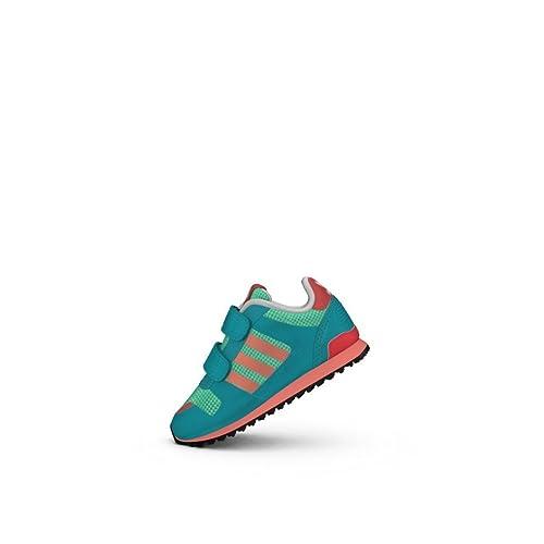brand new 40697 0d799 Adidas Chaussures ZX 700 CF Bleu Garçon Amazon.fr Chaussures